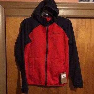 Men's Cotopaxi Sambaya Fleece Jacket Red/Blue Sz L